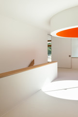 new architecture, interior, modern school