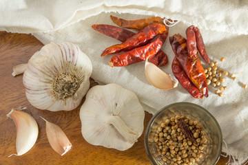 Thai herb and seasoning.