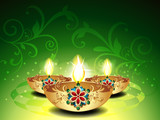 Abstract Deepawali Background