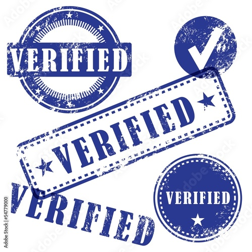 Verified vector stamp set