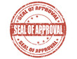 Seal of approval-stamp
