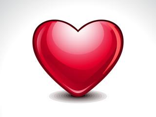 Glossy Heart Shape