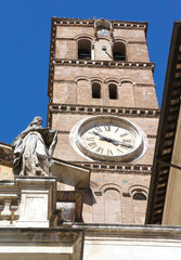 Basilica Santa Maria in Trastevere - Rome - Italy