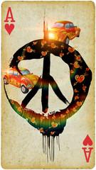 be hippie !