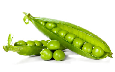 Green peas, food concept
