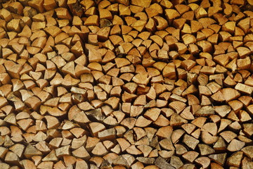 fire wood pieces
