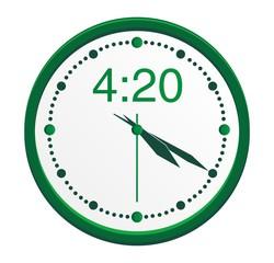 4:20 clock