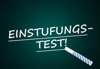 Einstufungstest (Einstufung, Test; Tafel)