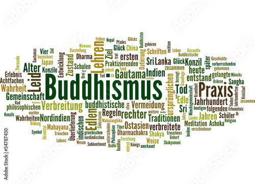 Buddhismus (Religion, Meditation)