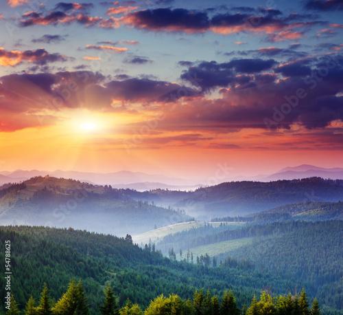 mountains landscape - 54788625