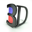 "Anaglyph ""3D"" Glasses"