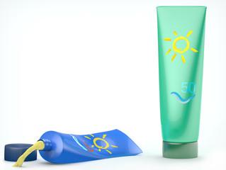 Tubos crema protección solar