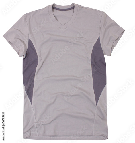 Sports t-shirt isolated on white background