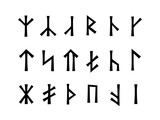 Slavonic Runes of Venethi (Pre-Christian Slavic script writing).
