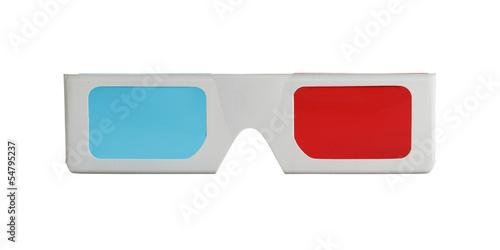 Font 3D Glasses - 54795237
