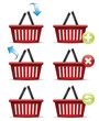 Shopping basket icons