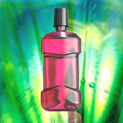 Botella De Enjuague Bucal
