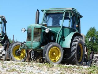 Tractor scrapyard