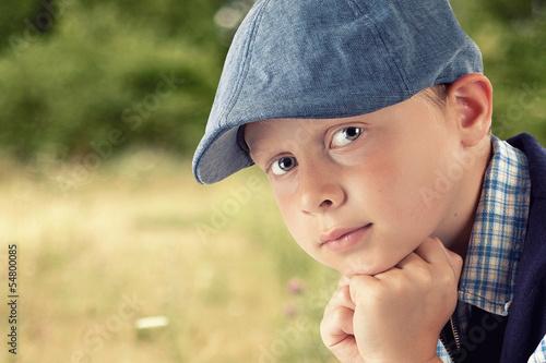 Portrait kleiner Junge