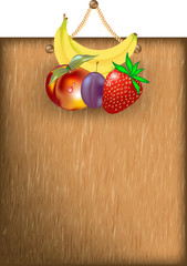 Insegna con Frutta