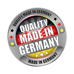 Bügel Button Kranz Qualität made in Germany