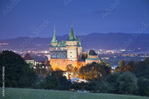 Bojnice Castle.