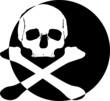 Skull Totenkopf Emblem Icon Logo