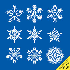 Snowflakes - vector pack