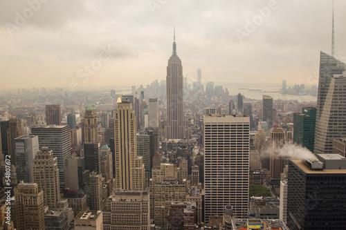 Fototapeten,skyscraper,skyline,new york,nebel