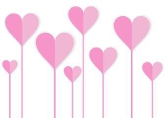 happy valentine card design