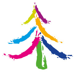 Sapin_Noel_Traces Couleurs