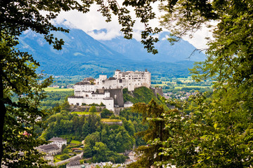 Hohensalzburg Castle in Salzburg