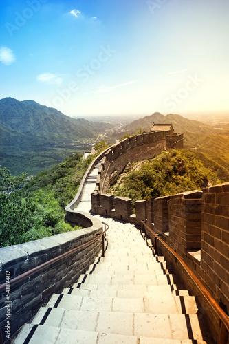 obraz PCV Wielki Mur Chiński