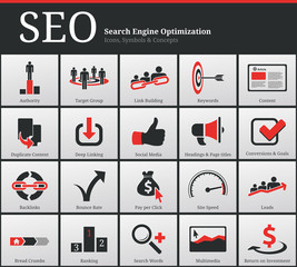 SEO Icons and Symbols