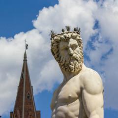 Firenze, statua del Nettuno