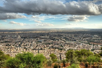 View across Damascus