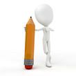 pencil figur tomi