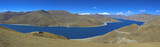 Holy Yamdrok lake in Tibet
