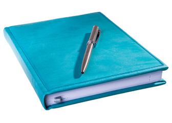 blue daily planner