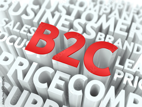 B2C. The Wordcloud Concept.
