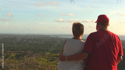 Senior couple on Bonaire
