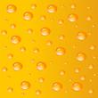 Tropfen Hintergrund Orange
