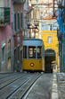 Leinwandbild Motiv Elevador da Bica, Lisbon, Portugal
