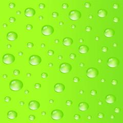 Tropfen Hintergrund grün