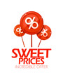 Sweet prices, incredible offer design template