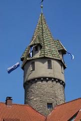 Grüner Turm Rutenfest Ravensburg
