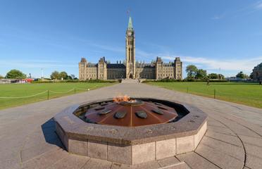 Centre Block Canadian Parliament