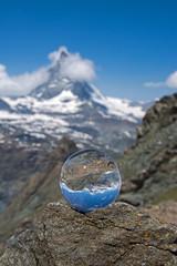 Matterhorn, Wallis, Schweiz - Glaskugel