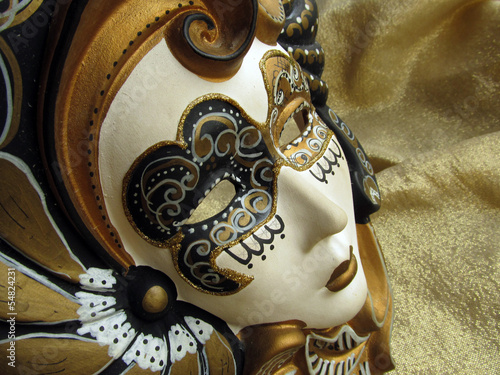Venetian mask close up