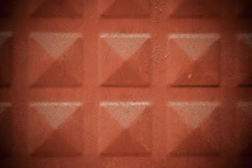 Terra Cotta Colored Iron Door